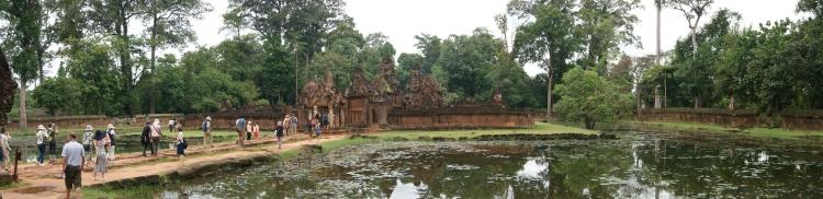 Banteay Srei moat